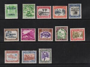 Samoa - 1930s issues - cat. $ 25.90