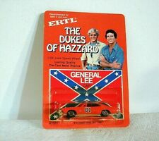 Vintage ERTL DUKES OF HAZZARD DODGE CHARGER ON UNPUNCHED CARD