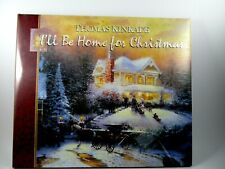 New ListingThomas Kinkade I'll Be Home For Christmas Hardcover Book