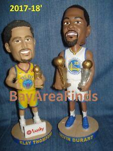 Golden State Warriors 2017-18 Kevin Durant & Klay Thompson Bobblehead SGA Bobble