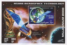 ASIAN AEROSPACE SATELITE TECHNOLOGY MILLENIUM 2000 SOMALIA MNH STAMP SHEETLET
