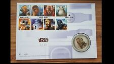 Royal Mail Limited edition 750- Star Wars R2D2 Silver Proof Medal/Coin-620/750