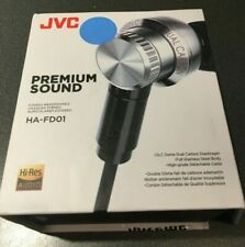 JVC HA-FD01 Hi-Res Compatible In-Ear Audio Headset - Silver