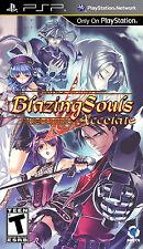Blazing Souls: Accelate PSP New Sony PSP