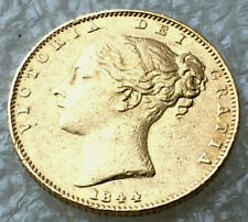 1844 shield full sovereign  victoria   @agd1