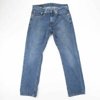 Vintage LEVI'S 559 Relaxed  Straight Fit Men's Blue Jeans W31  L32