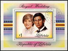 Liberia 1981 SG#MS1493 Royal Wedding Used M/S #D73713
