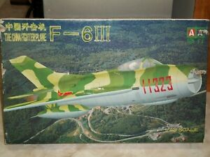 Sino-Models 1/48 Scale Chinese F-6III Fighter