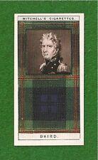 Baird Clan Tartan Mac a'bhaird original 1927 card Dominus Fecit