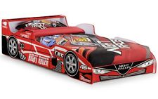 Julian Bowen Hornet Racing Car Childrens Red Kids Bed Childs Single 3ft 90cm