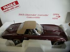 Franklin mint 1965 Chevrolet Corvette convertible