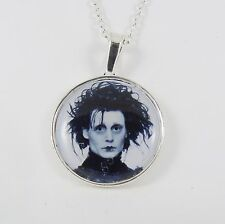 EDWARD SCISSORHANDS NECKLACE johnny depp tim burton goth emo kitsch scissors