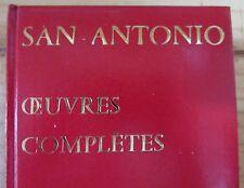 FREDERIC DARD  SAN ANTONIO OEUVRES COMPLETES TOME 9  de 1971