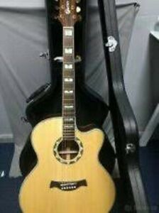 CRAFTER JE-24/N electro-acoustic guitar + Hard case