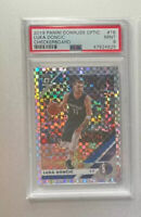 2019-20 Donruss Optic Checkerboard Prizm SSP Luka Doncic PSA 9