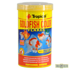 Tropical GoldFish Colour Flakes 100g - Colour Enhancing Food For All Goldfish