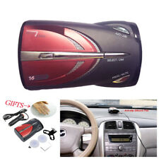 Upgraded 12V Car 16-Band GPS Laser Detection Function Voice Alert Radar Detector