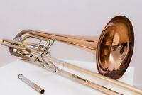 Conn 62h Elkhart Bassposaune Basstrombone TIS wie 60h 73h King 6b 7b Bach 50