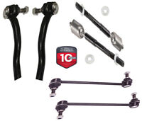 6 Piece Kit Inner Outer Tie Rod End Stabilizer Sway Bar End Link LH RH for MDX