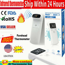 Digital Non Contact Infrared Forehead Thermometer Adult/Baby Temperature Gun Usa