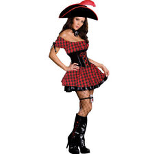 Bodysocks® Women's Red/Black Pirate Costume Sailor of the Caribbean