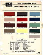 1957 DE SOTO FIREDOME FIREFLITE DESOTO 57 PAINT CHIPS RINSHED MASON 3