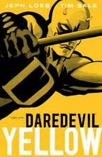 Daredevil Yellow GN Jeph Loeb Tim Sale Man without Fear Marvel TPB New NM