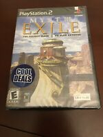 Brand New Sealed Myst III Exile (Sony PlayStation 2, Fast Shipping Ps2 PsII Mint