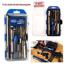 Cleaning Kit AR 15 Rifle 223 5.56 Caliber Gunmaster 17pc Tactical Gun Clean Tool