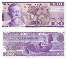 Mexico 100 Pesos 1981  P-74a Banknotes UNC