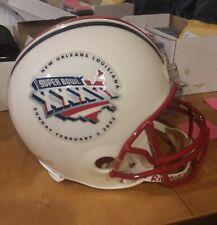 New England Patriots Super Bowl 36 FULL SIZE Replica Helmet SB XXXVI- Brady, Law