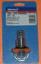 """Attwood 66541-3 Stainless Steel Thru Hull Connector Fitting 3/4"""""""" 3838"""