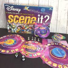 Mattel Disney 2004 Scene it? 1st Edition Complete & Lightly Used DVD Board Game