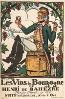 Original Vintage Poster - Arnoux Guy - Burgundy Wine - Nuits Saint Georges -1930