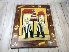 Fat Chef Italian home decor Premium Thick-Wrap Canvas Wall Art bistro