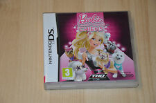 Nintendo ds game-barbie and the beauty salon dogs-ds1 ds lite/vf