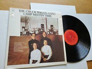 Chuck Wagon Gang - Camp Meetin' Time 1974 Country Gospel (LP) NM Ex