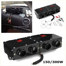 12V dual-switch car 4-hole glass defroster demister 150W portable heating dryer
