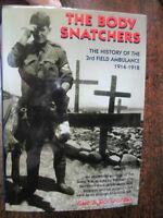 Body Snatchers History of the 3rd Field Ambulance WW1 Man With Donkey Gallipoli