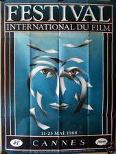 Art , Tibor Timar , Festival Cannes 1988 , POSTER