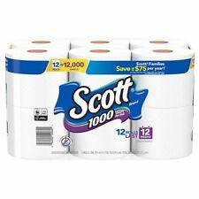 1000 Sheets Per Roll Toilet Paper, Bath Tissue