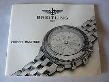 Longitude Manual Breitlng Chrono