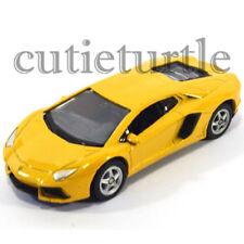 Welly Lamborghini Aventador LP700-4 1:60 Diecast Toy Car 58258D Yellow
