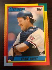 1990 Topps Traded Ernie Whitt Atlanta Braves 128T