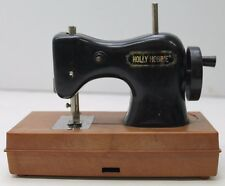 Vintage 70's Holly Hobbie Sewing Machine Black 1975 American Greetings Durham