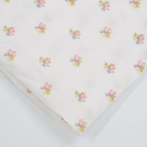Simply Shabby Chic Shower Curtain PINK ROSEBUDS Ashwell Roses Cotton Cottage