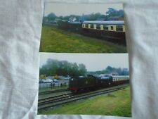 2 6x4 Photos of Steam Loco 6990 Withaslack Hall at Quorn and Woodhouse GCR