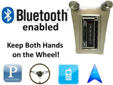 Bluetooth Enabled 63-67 Chevy Corvette 300 watt AM FM Stereo Radio iPod, USB