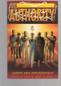 THE AUTHORITY -  UNDER NEW MANAGEMENT - TRADE PAPERBACK - WILDSTORM - DC  COMICS
