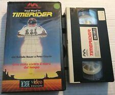VHS - TIMERIDER - UNA MOTO CONTRO IL MURO DEL TEMPO di William Dear [DB VIDEO]